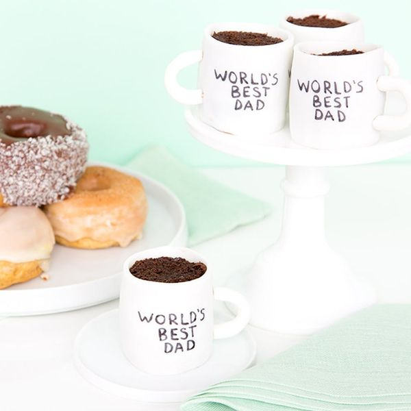Show Dad He's the Best This Father's Day With Mug-Shaped Cupcakes