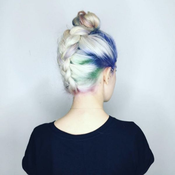 10 Rainbow Roots Hairstyles That Will Inspire You to Embrace *All* the Colors