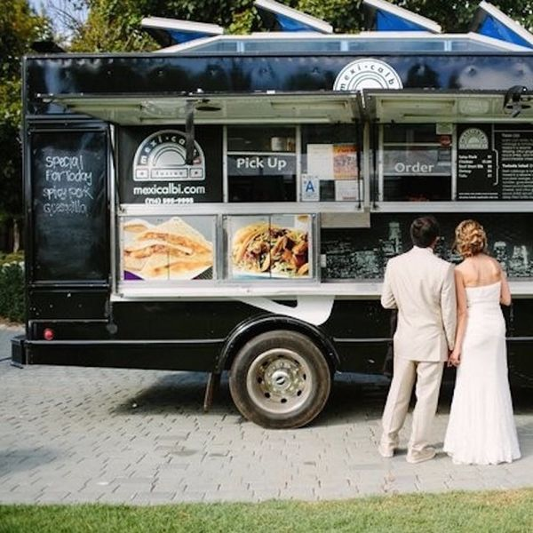 14 Cocktail and Food Truck Ideas for Your Wedding