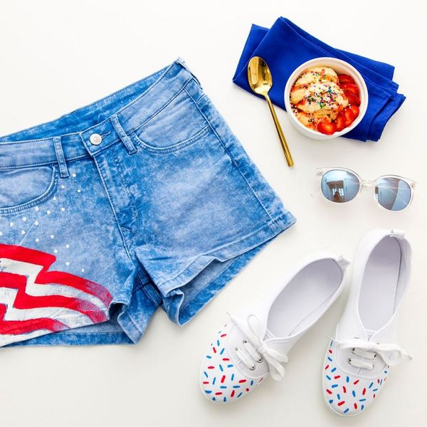 Upgrade Inexpensive Shorts and Shoes for Memorial Day