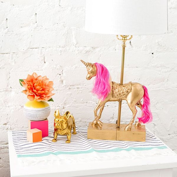 Yes, You Can Make the Unicorn Lamp of Your Dreams