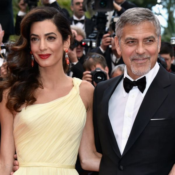 Amal Clooney's Butter Yellow Cannes Dress Is the Color of Summer 2016