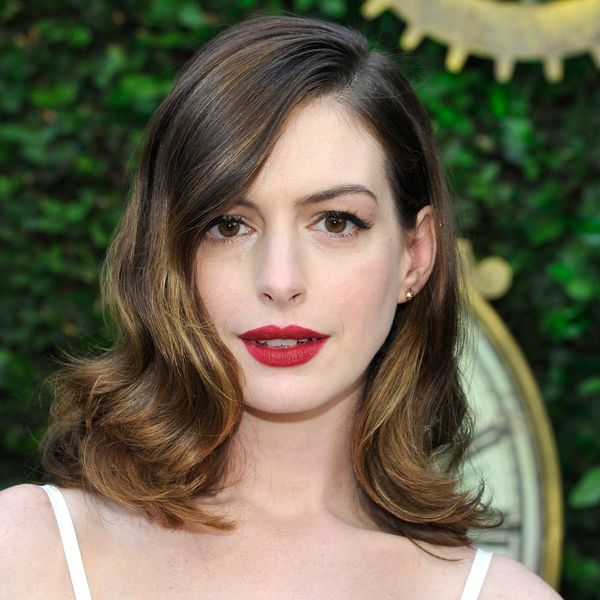 Anne Hathaway's First Public Event Post-Baby Included a Devil Wears Prada Reunion