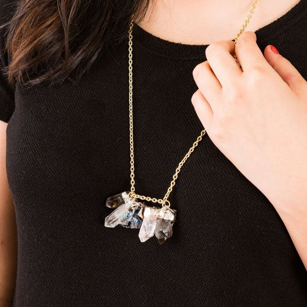 Solder Your Way to a New Gemstone Statement Necklace