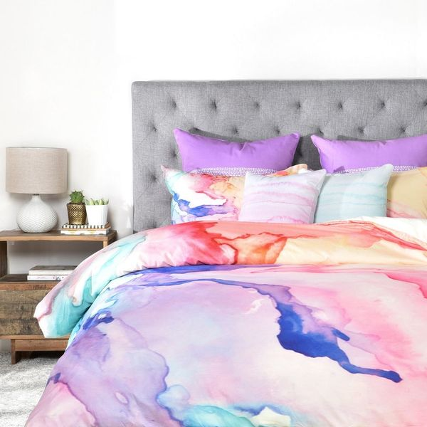 15 Patterned Duvet Covers That Make a *Big* Statement