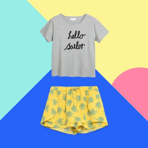 12 Foolproof T-Shirt + Bottom Pairings for Summer