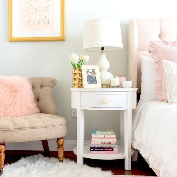 This Fashion Blogger's Bedroom Makeover Is Super Stylish *and* Budget-Friendly