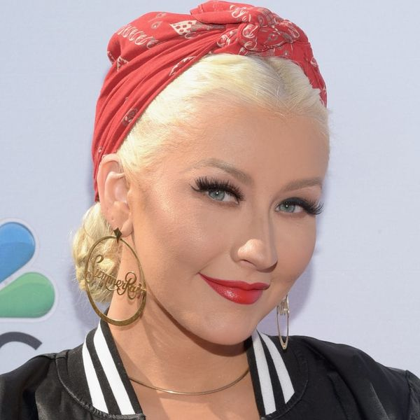 Christina Aguilera's Pierced Braid Is Something Everyone Needs to Try