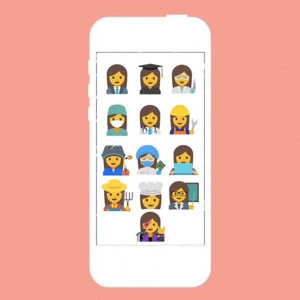 Google's New Set of Emoji Aim to Better Represent Women