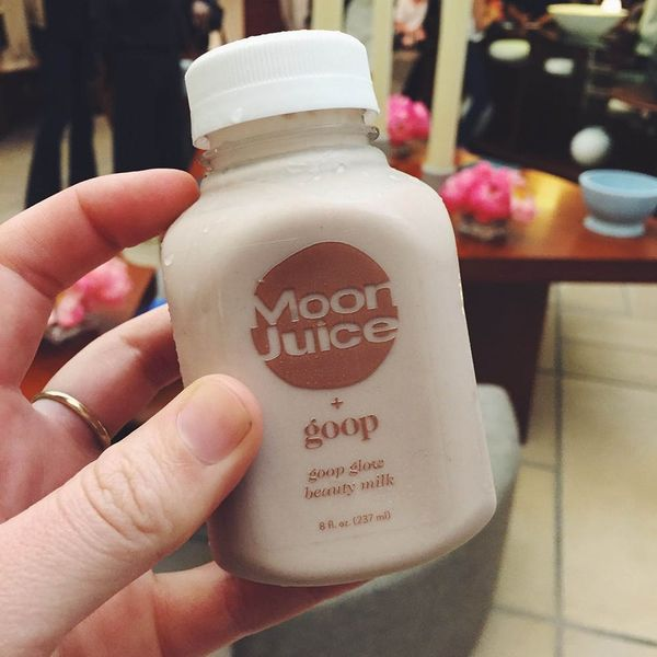 We Tried Goop's Beauty Milk and It Was NOT What You Think
