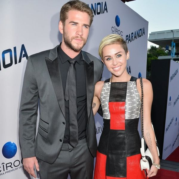 This Is Why Liam Hemsworth Won't Comment on the Miley Engagement Sitch