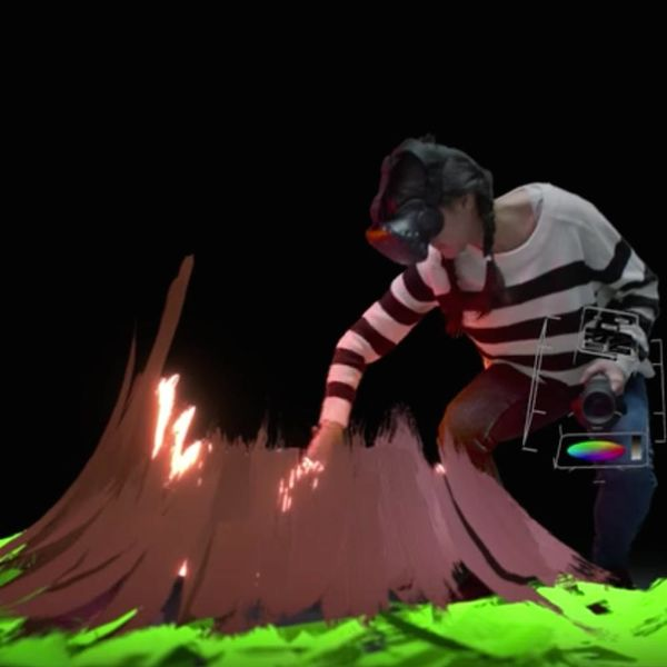 Google's Virtual Reality Paintbrush Will Literally Let You Create Your Own Universe