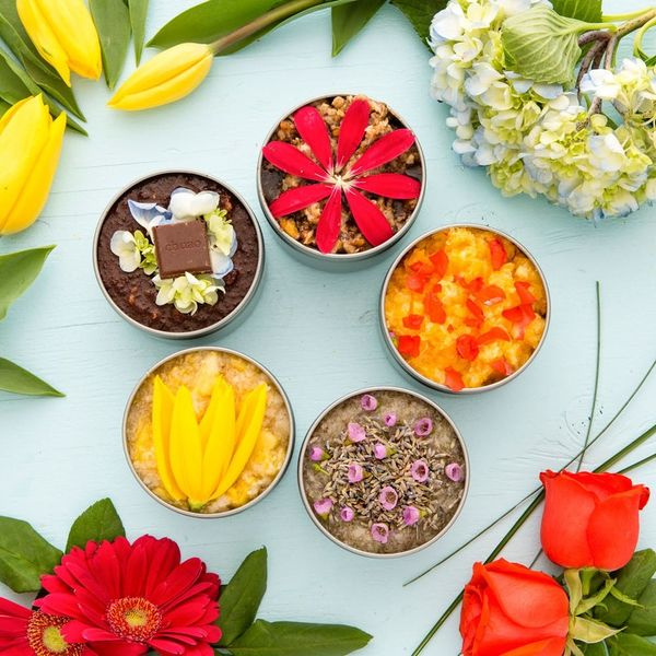 5 DIY Summer + Floral Body Scrubs You Can Make for Mom