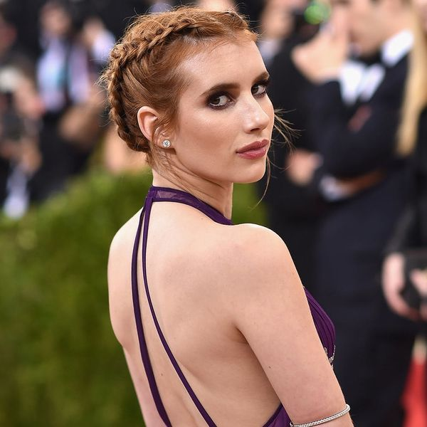 How Emma Roberts Is Making Her Met Gala Hair Last All Week