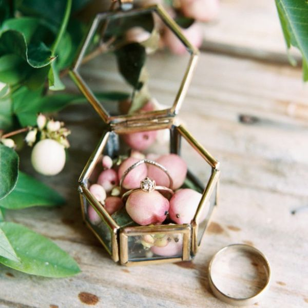 15 Creative Wedding Ring Boxes for the Non-Traditional Bride