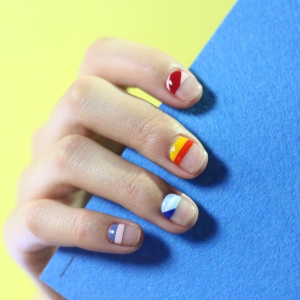 15 Rainbow Manicures to Wear All Summer Long