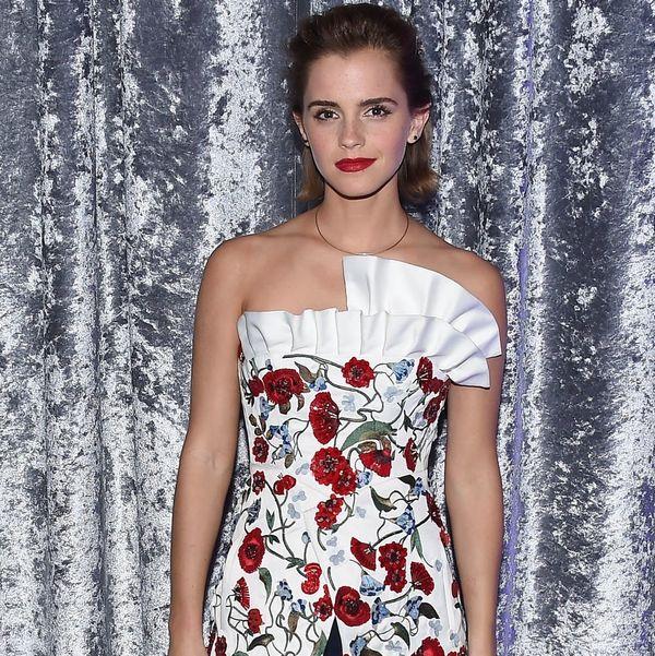 Emma Watson Wore Garbage to the Met Gala