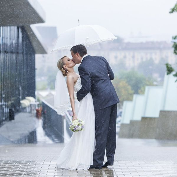 Why Seeing the Bride Before the Wedding Is Bad Luck + Other Wedding Superstitions