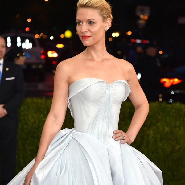 Claire Danes Wore a Glow-in-the-Dark Gown to the Met Gala and It Was Magical