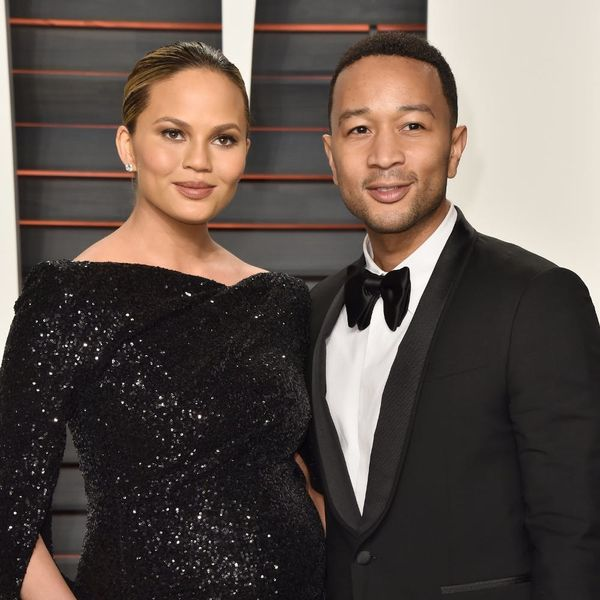 Chrissy Teigen + John Legend Had the BEST NIGHT EVER at Jessica Alba's Surprise Party