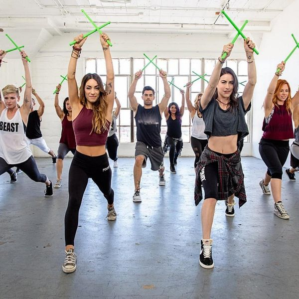 This Drumming-Inspired Workout Class Is About to Be Cooler Than SoulCycle