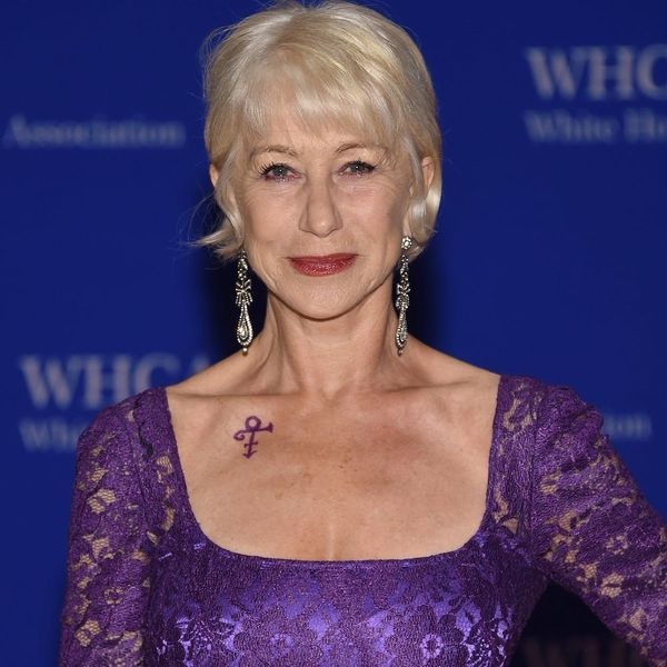 How Helen Mirren Slayed the Red Carpet With One Awesome Accessory