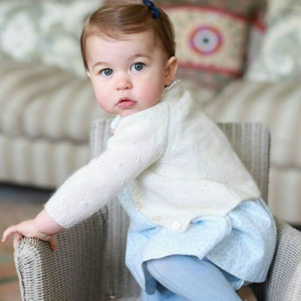 Princess Charlotte's First B-Day Pics Will Make You Swoon