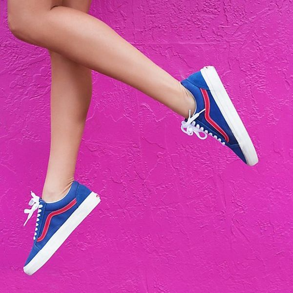17 Colorful Spring Sneakers You'll *Actually* Wear