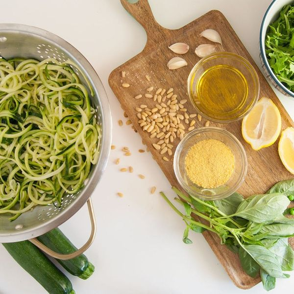 Try This Vegan Pesto Zoodle Dish for Your Next Dinner