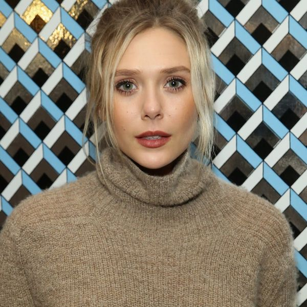 Elizabeth Olsen's Red Carpet Look Features Cutouts In a Very Daring Place