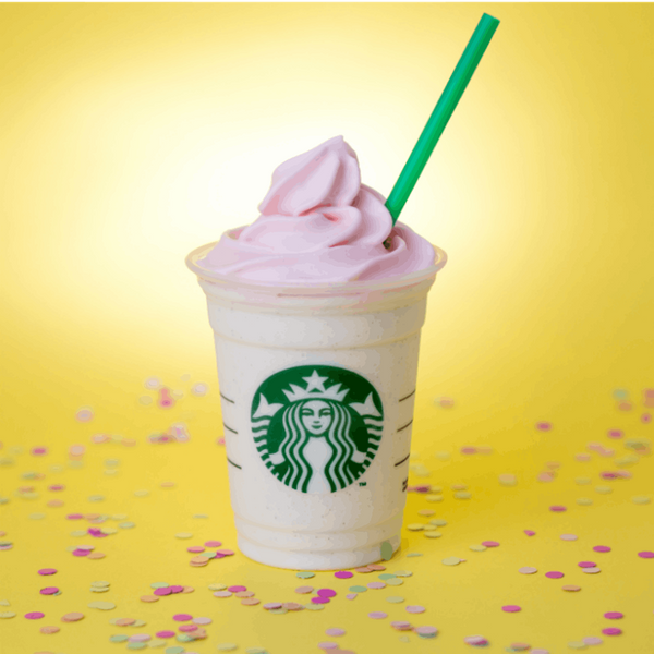 Starbucks Birthday Cake Frappuccino Is Back for a VERY Limited Time