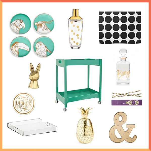 3 Ways to Style Your Bar Cart for Spring and Summer