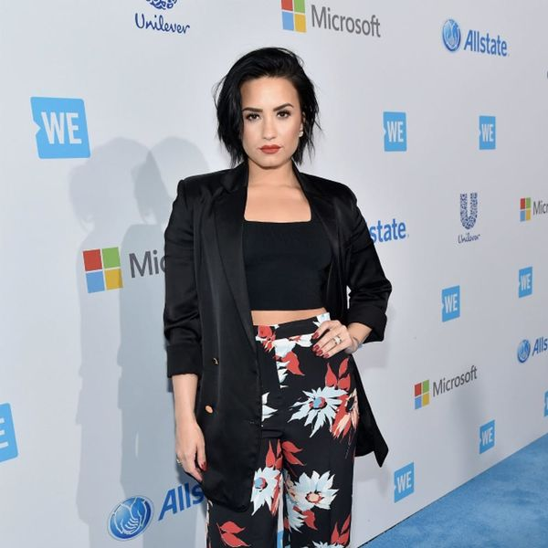 Demi Lovato's Newest Selfie Is Sexy for a Very Different Reason