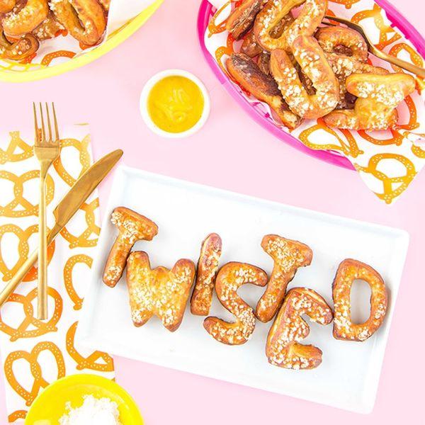 Make These Letter-Shaped Pretzels for National Pretzel Day