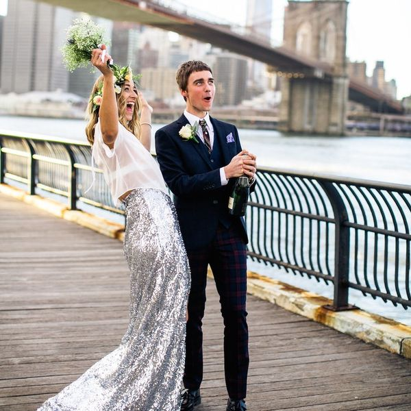 This New Reverse Wedding Trend Is *All* About the Party
