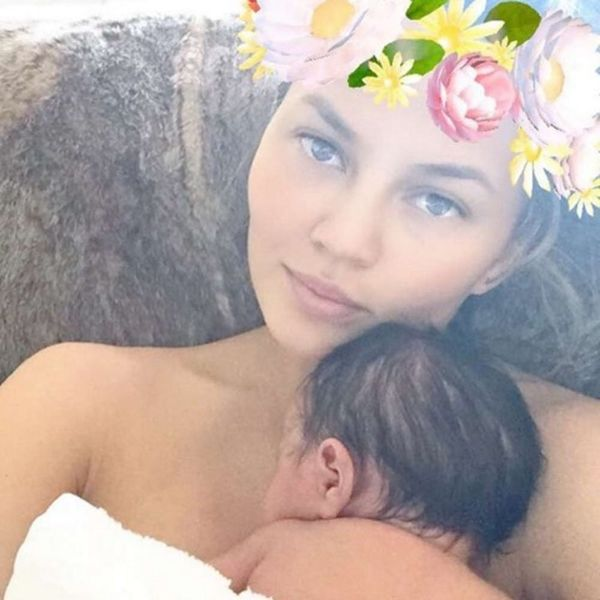 Chrissy Teigen Couldn't Care Less If People Are Peeved at Her Latest Mommy Move