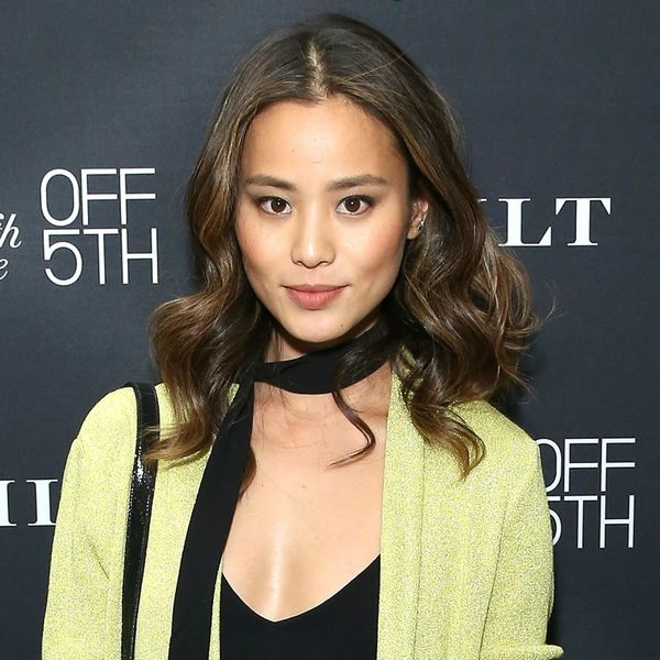Jamie Chung Puts a Creative New Spin on the Flower Crown