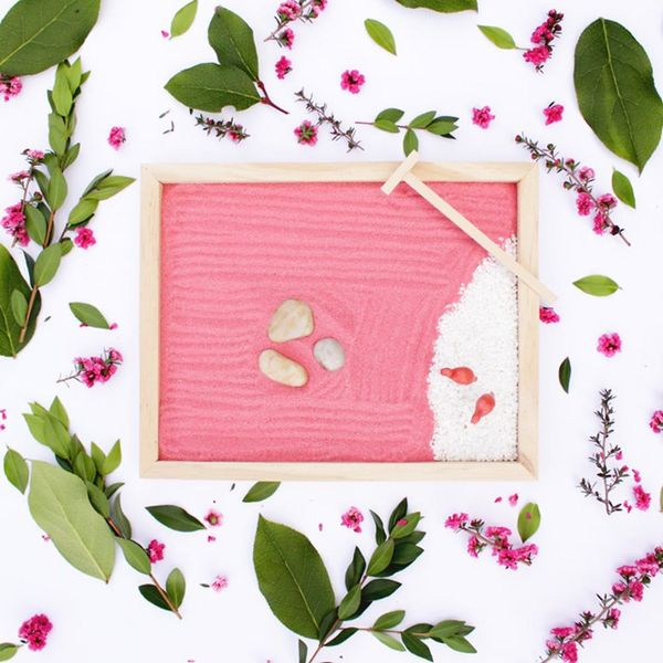 DIY a Mini Zen Garden for Mom This Mother's Day