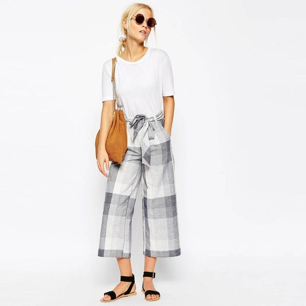 10 #OOTD-Worthy Ways to Style Culottes and Trendy Spring Shoes