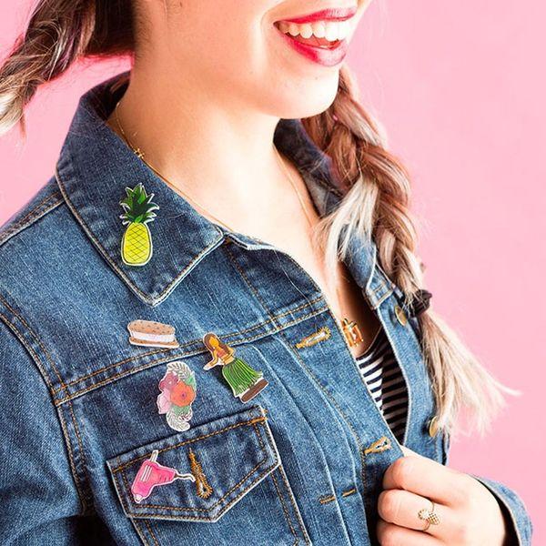 Use This Childhood Craft to Make Custom Flair Pins