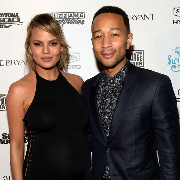 Here's the First Pic of Chrissy Teigen's Daughter Luna's Sweet Face