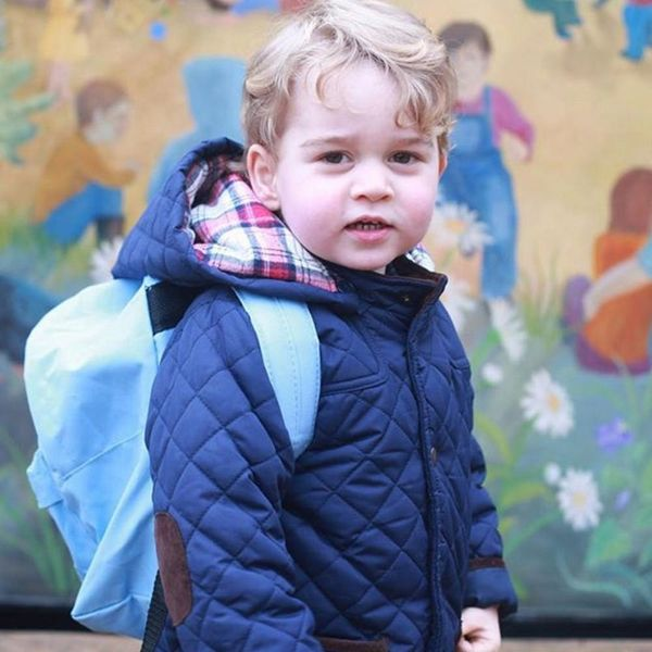 Prince George's Newest Royal Portrait Is 100% Adorable