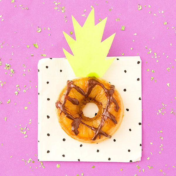 Celebrate Pineapple Upside Down Cake Day With Donuts!
