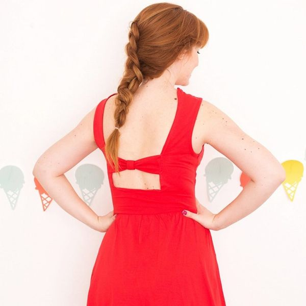 DIY This $148 Anthro Bow Dress for Less Than $10