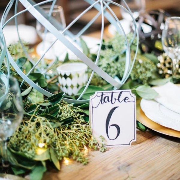 15 Ways to Bring a Little Green to Your Spring Wedding