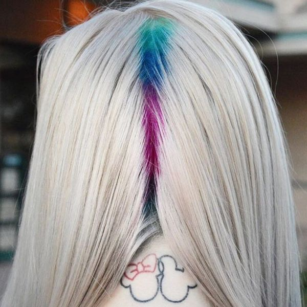 Rainbow Roots Are the Subtle Hair Trend You Need for Summer