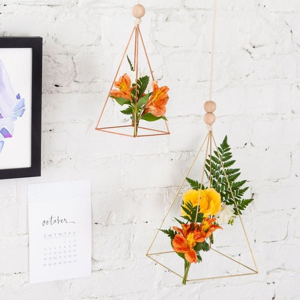 These Geometric Floral Mobiles Are Like Jewelry for Your Walls