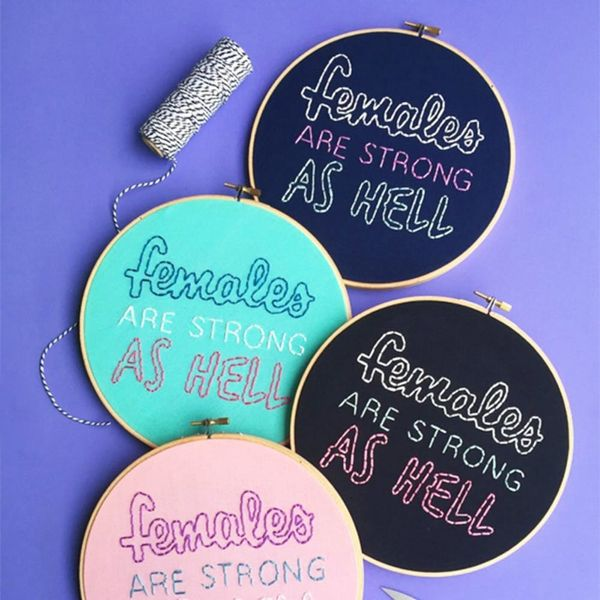 8 Pieces of Embroidered Typography to Step Up Your Lettering Game