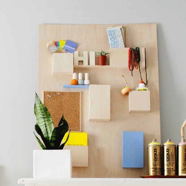 DIY This $328 Anthropologie Wall Organizer for Less Than $50