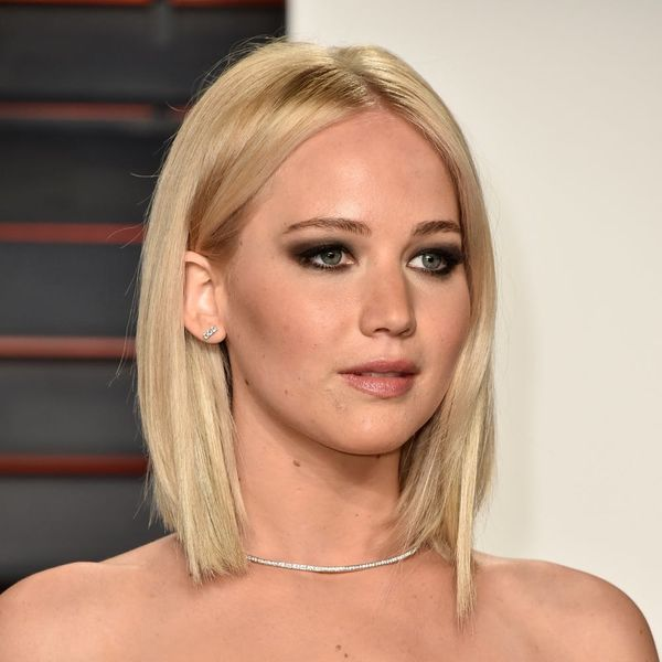Jennifer Lawrence Debuts New Icy-Blonde Look
